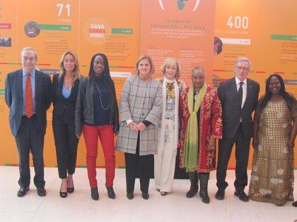 Mujeres por África desembarca en Barcelona con una muestra arropada por autoridades y sociedad civil
