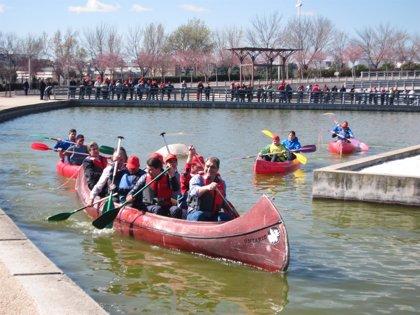Jóvenes con discapacidad de los Centros Ocupacionales de la región  podrán participar en cursos de piragüismo