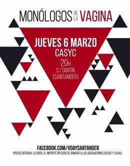 Cartel de 'Monólogos de la vagina'