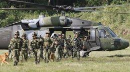 El Ejército de Colombia