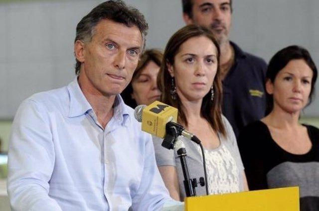 El jefe de Gobierno de Buenos Aires, Mauricio Macri