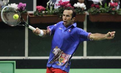 Tenis.- Radek Stepanek será el primer rival de Nadal en Indian Wells