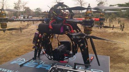 Marugán (Segovia) acoge hoy una exhibición de aeronaves como clausura de la feria de vehículos no tripulados UNVEX'14