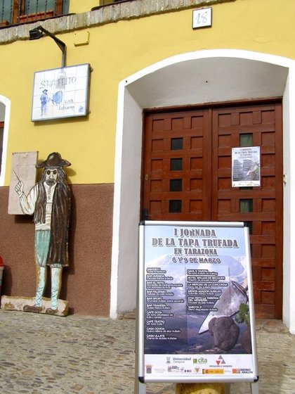Tarazona celebra I Jornadas de la Tapa Trufada