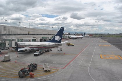 Aeroméxico transportó 2,6 millones de pasajeros hasta febrero, un 18,6% más