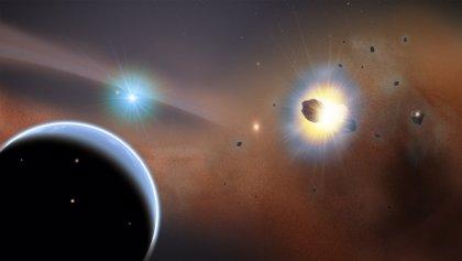 Escombros de hielo en una estrella cercana sugieren que hay un planeta