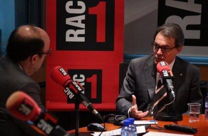 """Artur Mas urge a los partidos a trabajar unidos por encima de """"obsesiones estéticas"""""""