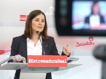 El PSOE dice que las mujeres no están en la agenda política de Monago