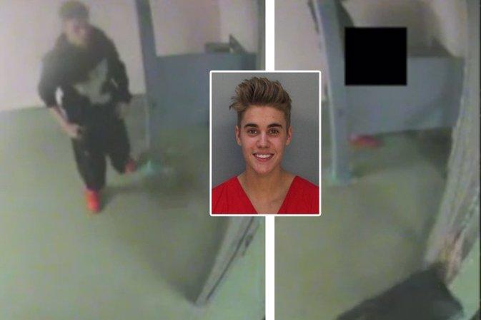 El video del arresto de Justin Bieber