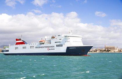 Trasmediterranea incorpora a Valencia-Palma el buque Sorrento con capacidad para 1.000 pasajeros y 2.300 metros de carga