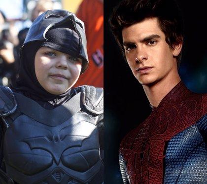 Tras el fiasco de los Oscar, Spider-Man se va con Batkid a Disneyland