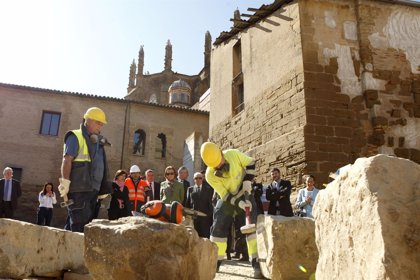 """Rudi afirma que la colaboración entre Ayuntamiento y Gobierno permite """"modernizar"""" Huesca"""