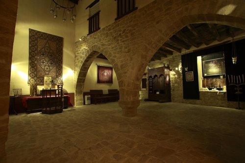 Vista interior de la Sinagoga del Agua