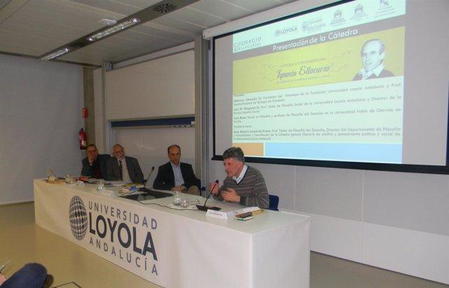 Presentación de la Cátedra Ignacio Ellacuría de la Universidad Loyola