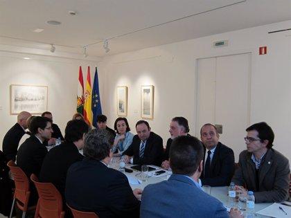 Sanz agradece el apoyo de FEMP a la candidatura del paisaje cultural del vino y el viñedo a Patrimonio de la Humanidad