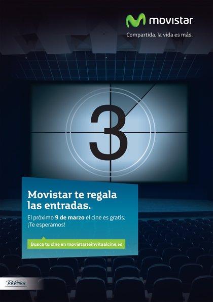 Movistar ofrece el domingo entradas gratis en los cines Bahía de Santander