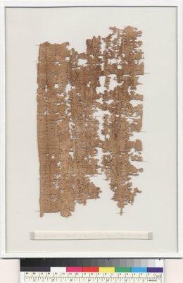 Carta soldado egipcio