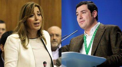Susana Díaz se reúne con Moreno para abordar posibles acuerdos