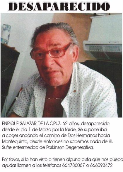 Buscan a un hombre de 62 años desaparecido en Dos Hermanas (Sevilla)