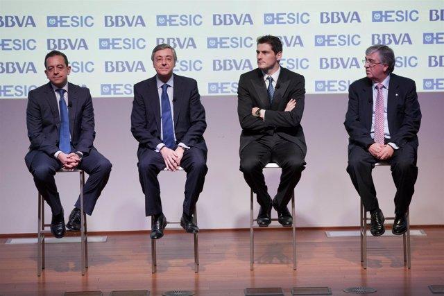 BBVA, ESIC e Iker Casillas presentan nuevo modelo de valoración de futbolistas