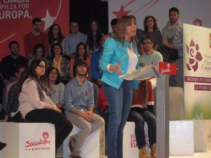 """Díaz: """"No es fácil marcar la diferencia cuando no se respeta a Andalucía"""""""