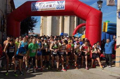 Cerca de ochocientos atletas participan en la II Carrera Popular Vacceos de Cigales (Valladolid)