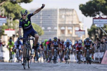 Valverde vence en la Roma Maxima