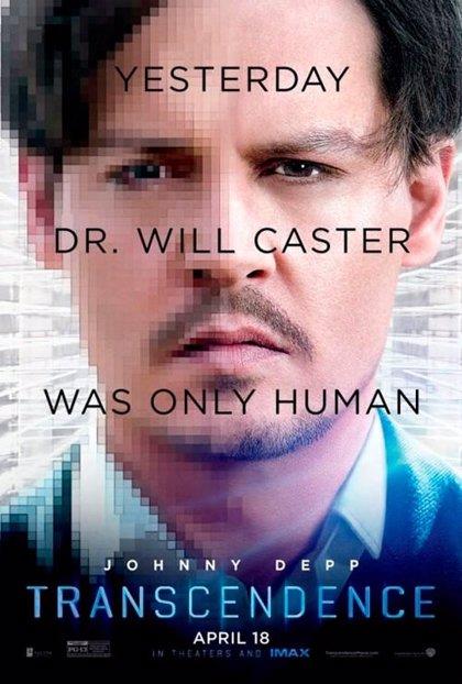 Nuevo cartel de 'Transcendence' con Johnny Depp como protagonista