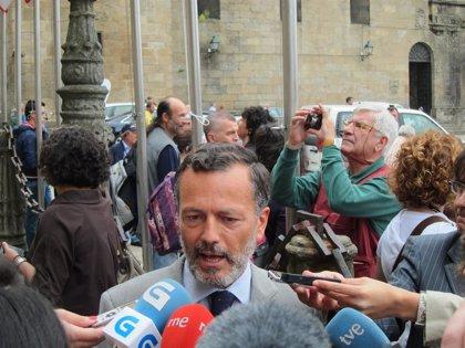 """Agustín Hernández afirma que """"no entra"""" en sus """"previsiones"""" ser candidato del PP en Santiago"""