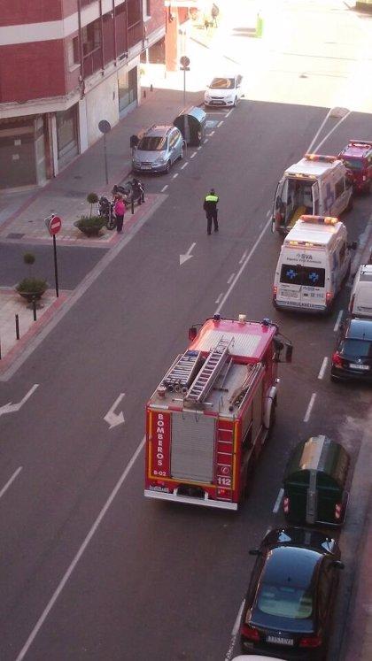 Dos adultos y otros dos menores son trasladados al hospital tras respirar monóxido de carbono en una vivienda de Logroño
