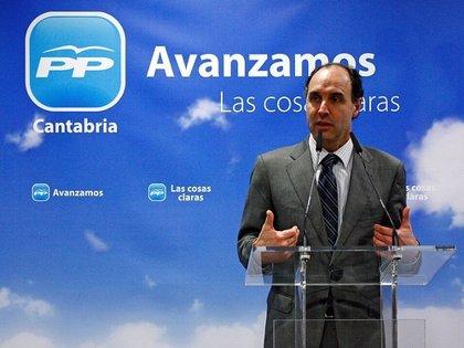 CANTABRIA.-Ignacio Diego asiste este lunes a la reunión del Comité Ejecutivo Nacional del PP