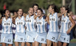 Argentina's hockey players
