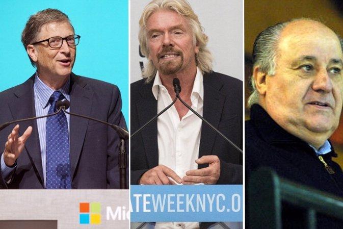 Los primeros empleos( más curiosos) de las hombres mas poderosos