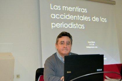 El profesor de la UCLM Josu Mezo ofrece a lectores de prensa pautas para advertir informaciones erróneas
