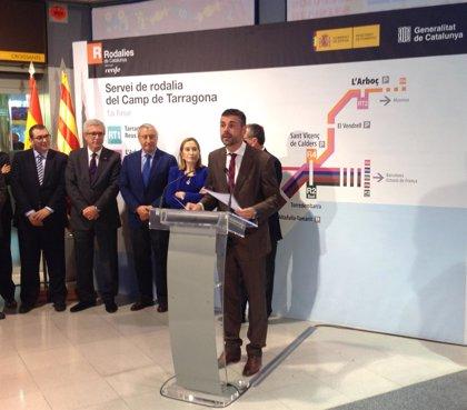 Rodalies añade diez frecuencias Tarragona-Reus y un servicio L'Arboç-Cambrils