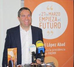 El gerente de Desguace París, Miguel López Abad, y candidato a presidir la FREMM