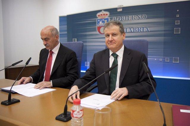 Santiago Recio y Eduardo Arasti, director y consejero