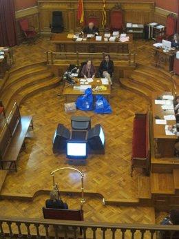 La expareja del acusado del triple crimen declara como testigo en juicio