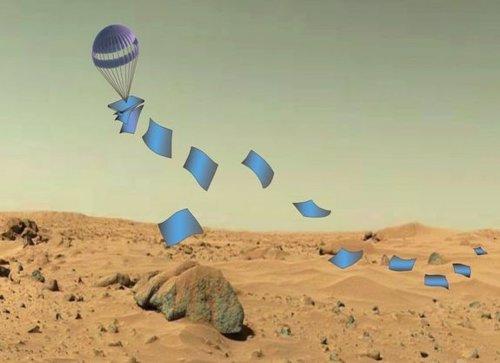 Aterrizadores planos para otros planetas
