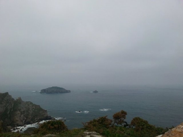Rescate del naugrafio en el Cabo Peñas