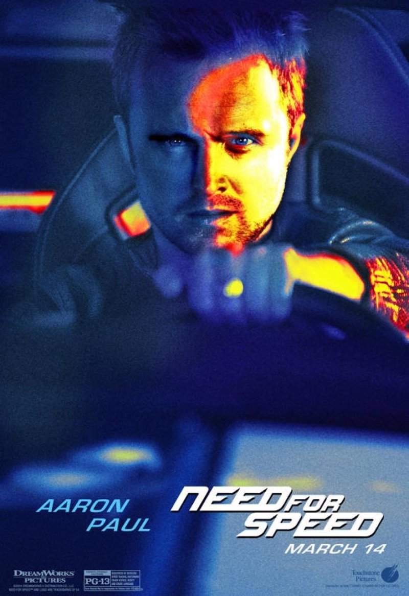 Ocho nuevos pósters de Need For Speed
