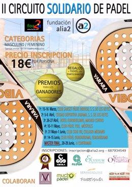 Torneo de pádel de la Fundación Alia2