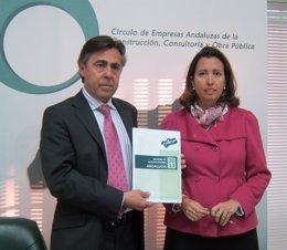 Francisco Felipe Fernández y Ana Chocano, de Ceacop.