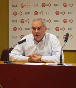 El secretario de Acción Sindical de UGTCyL, Evelio Angulo