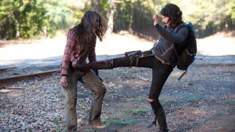 Lauren Cohan habla sobre los 3 últimos episodios de la cuarta temporada de TWD