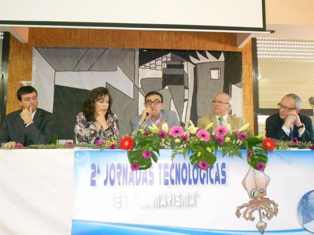 Jornadas tecnológicas en el IES La Marisma de Huelva.