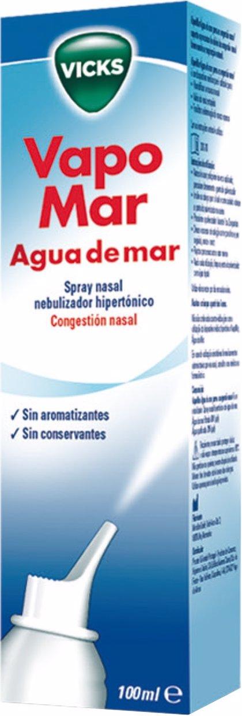 Vicks lanza 'Vapomar Agua de Mar Spray Nasal' para tratar la congestión nasal en el resfriado
