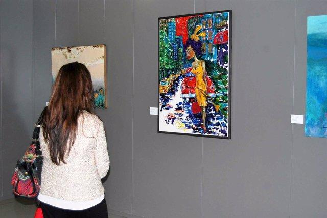 Exposición de pintoras en la Ciudad de la Justicia