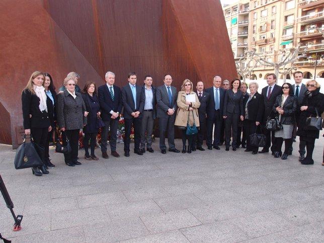Acto víctimas terrorismo en Logroño