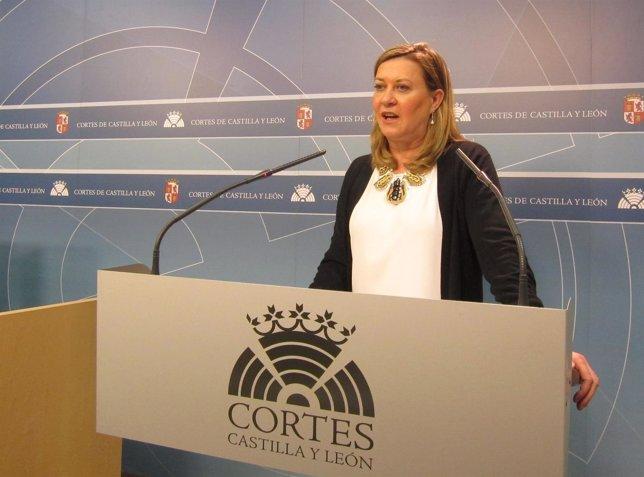 La consejera de Hacienda de la Junta, Pilar del Olmo